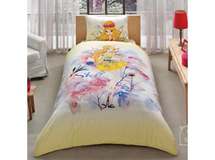 Детское постельное белье TAC. Winx Stella Waterсolour