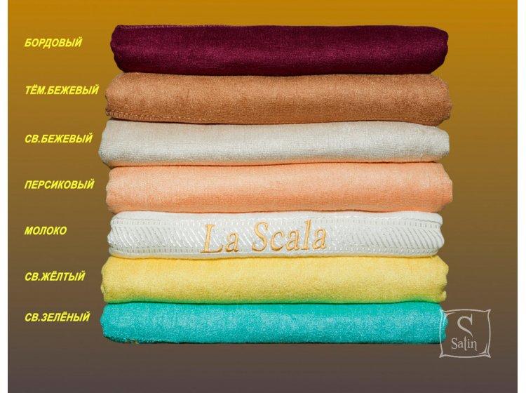 Простынь махровая La Scala, из бамбукового волокна, размер 180*220см.