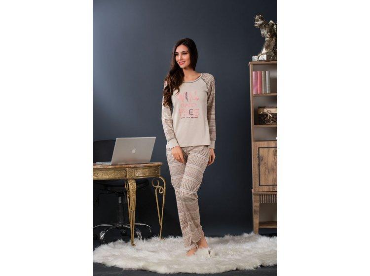 Женский домашний костюм пижама Sexen. 63191