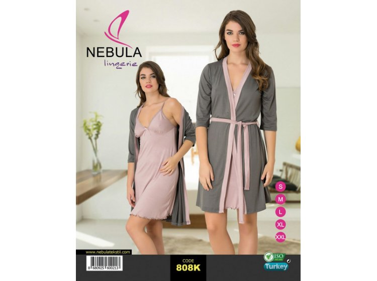 Ночная рубашка и халат Nebula. 808K