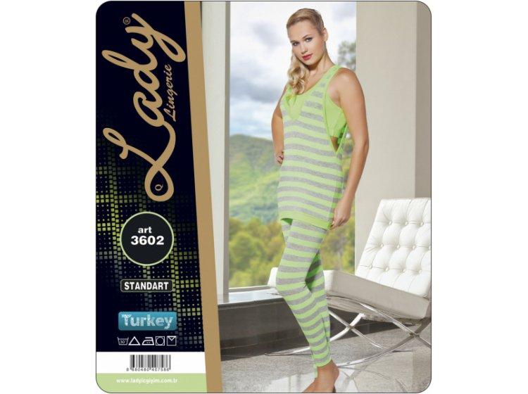 Комплект спортивный женский с лосинами Lady Textile. 3602