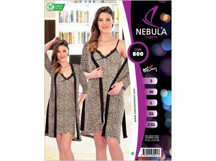 Комплект халат + рубашка Nebula. 800