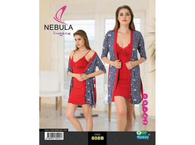 Ночная рубашка и халат Nebula. 808B
