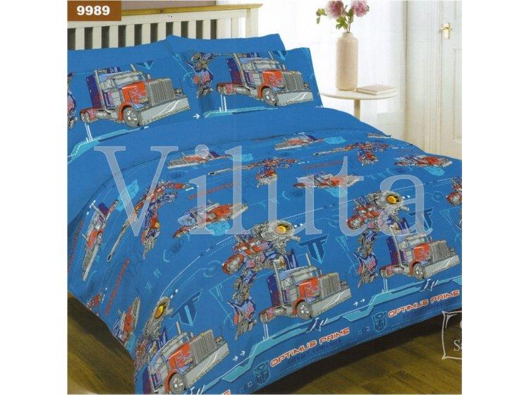 Детское постельное белье Viluta. Трансформеры 9989