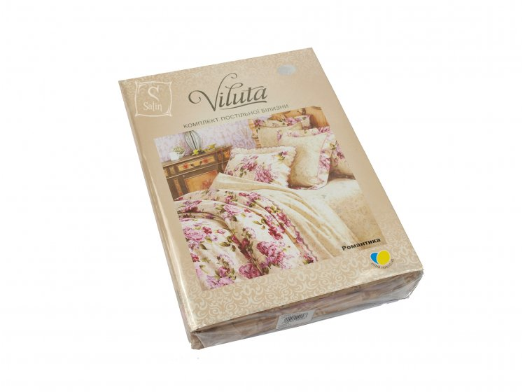 Постельное белье Viluta. Платинум Романтика упаковка