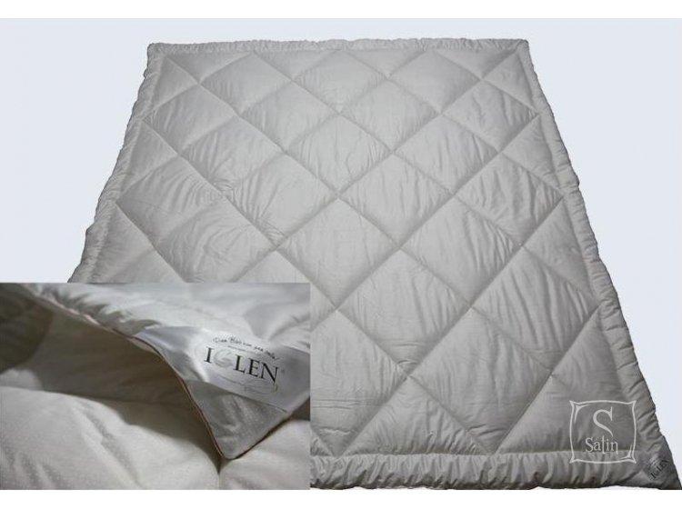 """Одеяло """"Iglen"""" зимнее шерстяное детское в тике, размер 110х140"""