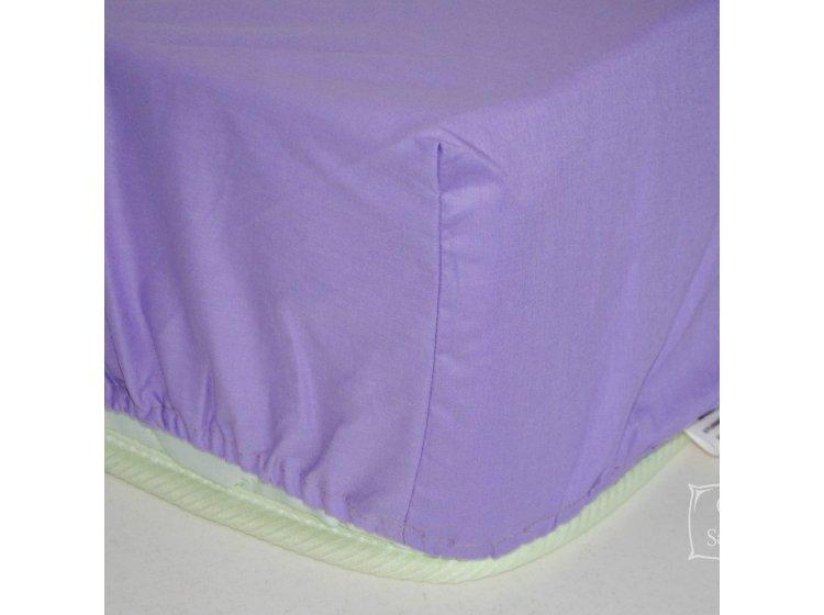 Простынь на резинке SoundSleep. Violet фиолетовая