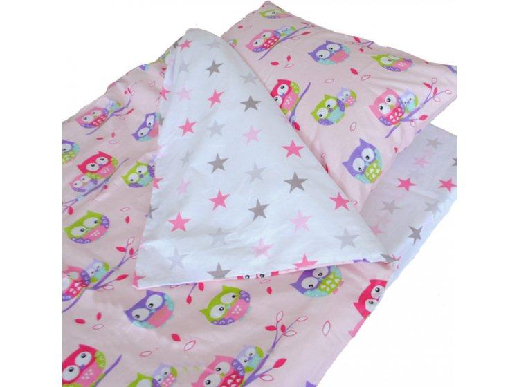 Постельное белье детское SoundSleep. Fantastic owls розовое