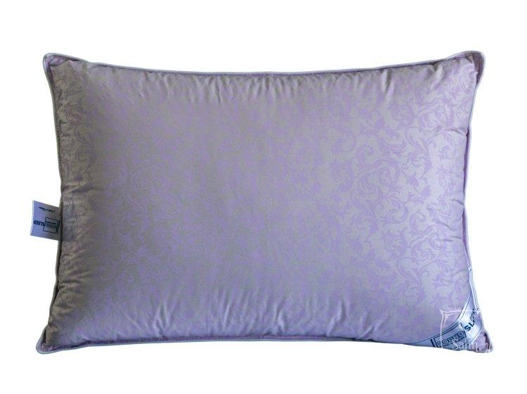 Подушка 10% пуха SoundSleep. Sleep and Go сиреневая