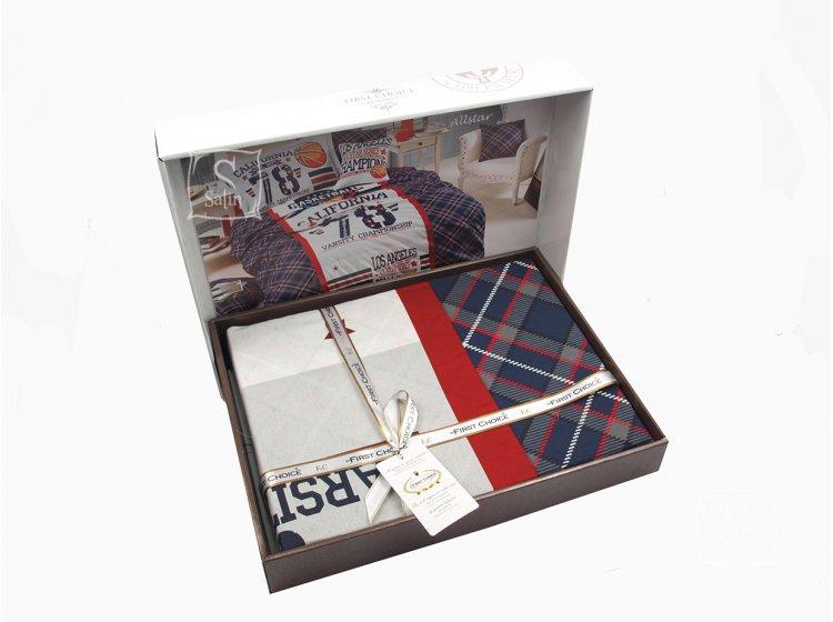 Подростковое постельное белье First Choice. Ranforce Deluxe 3D Allstar в упаковке