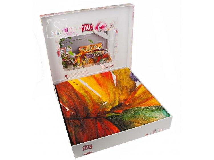 Постельное белье TAC. Digital Aurelio Oranj в упаковке