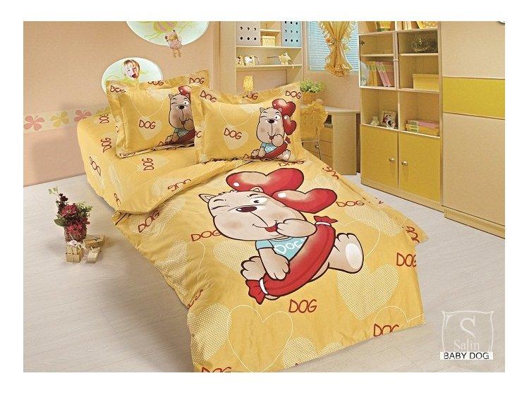 Постельное белье в детскую кроватку Arya. Baby Dog