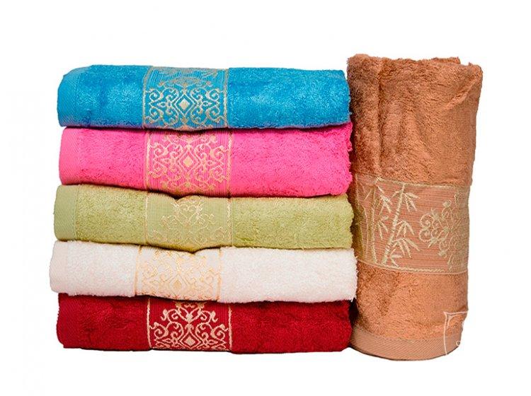 Набор из 6-ти бамбуковых полотенец Gulcan. Bamboo Osmanli