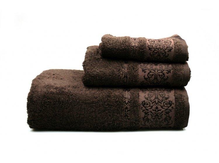 Полотенце махровое Home Line. Bamboo коричневий