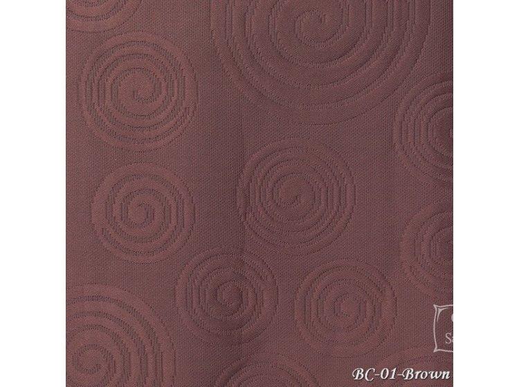 Покрывало Tropik. Cotton ВС01 Спираль коричневый