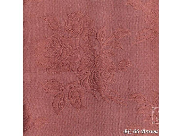 Покрывало Tropik. Cotton ВС06 Розы коричневый