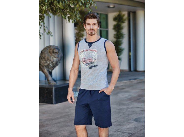 Домашний мужской комплект с шортами BERRAK. 4208