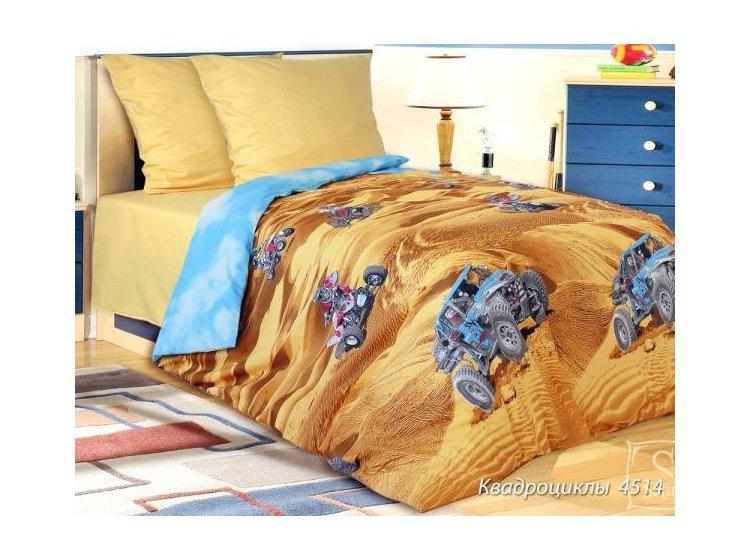 Детское постельное белье Блакит. 4514 Квадроцикл