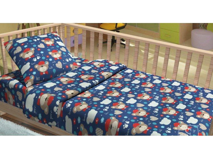 Постельное белье в детскую кроватку Lotus. BoBo, фланель
