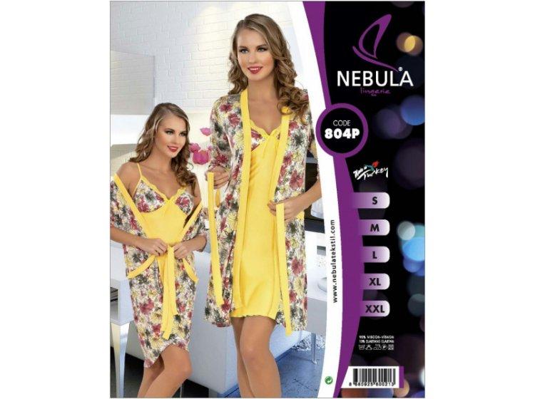 Комплект халат + рубашка Nebula. 804P