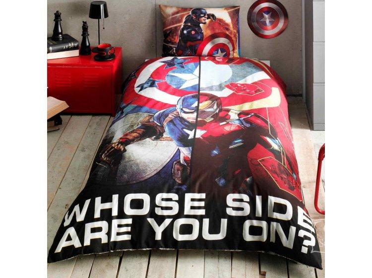 Постельное белье TAC. Captain Amerika Movie Disney