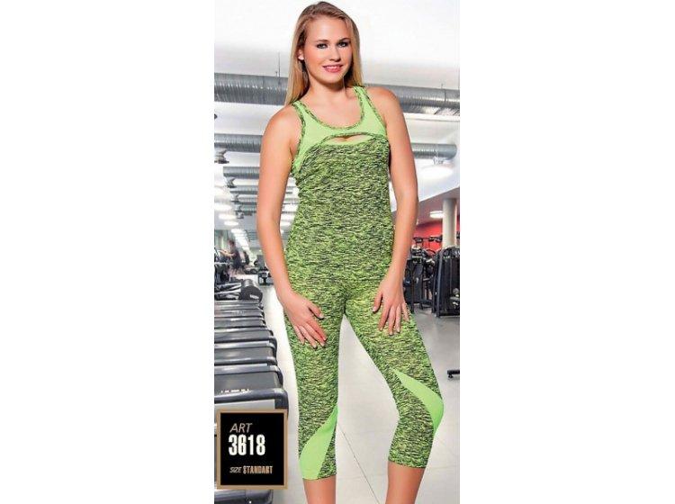 омплект спортивный женский майка с бриджами Lady Textile. 3618