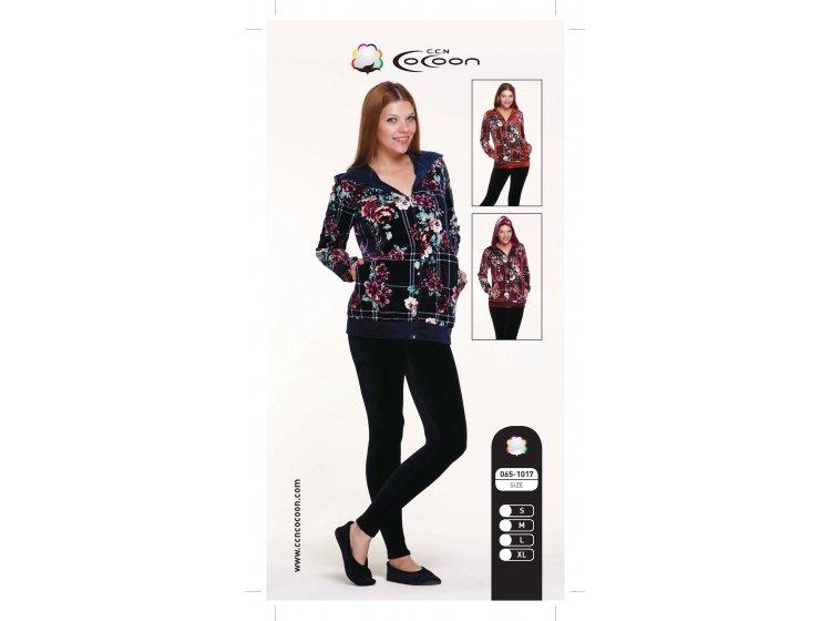 Велюровый костюм Cocoon.  ccn065-1017 розовый в ассортименте