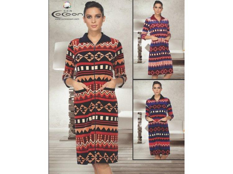 Велюровый халат Cocoon. ccn 12-1144