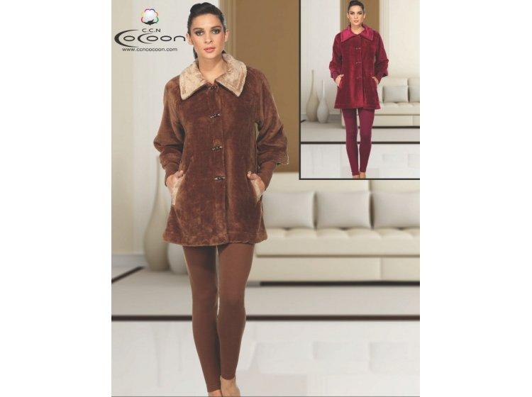Велюровый костюм Cocoon. ccn 66-5009