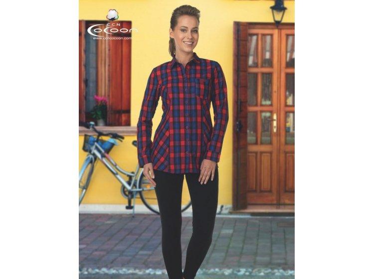 Домашний женский костюм Cocoon. ccn 96-1031 синий