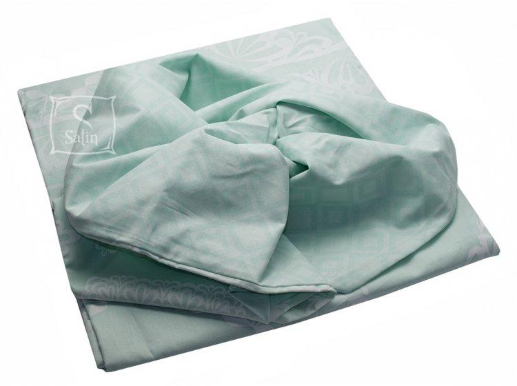 Постельное белье TAC. Ranforce Celia V52 Mint пододеяльник