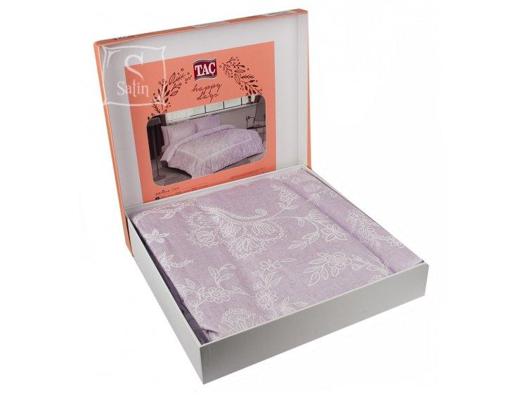 Постельное белье TAC. Clara V54 Lila в упаковке