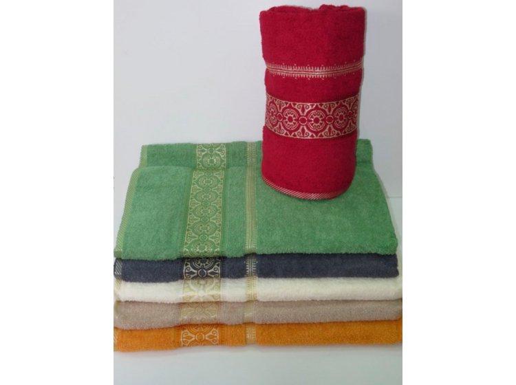 Набор из 6-ти хлопковых полотенец Gulcan. Cotton Etnik