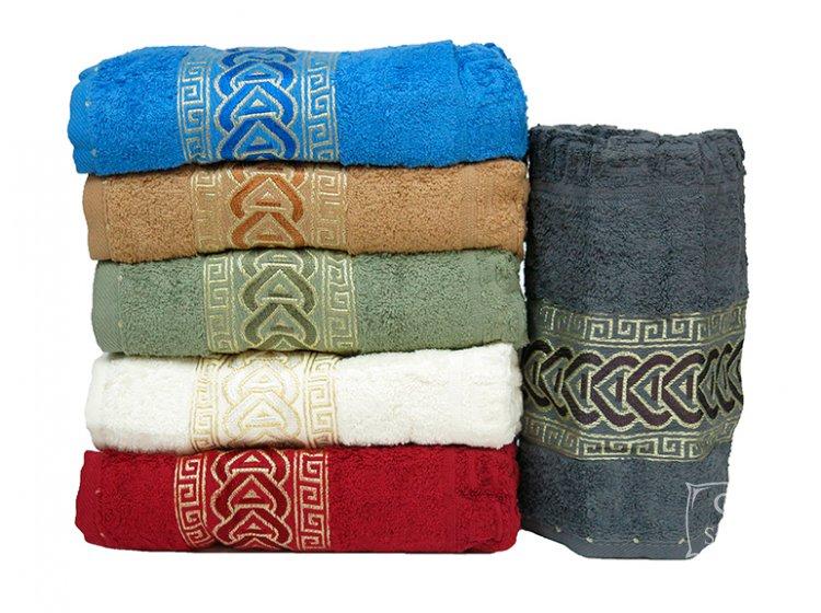 Набор из 6-ти хлопковых полотенец Gulcan. Cotton Zincir