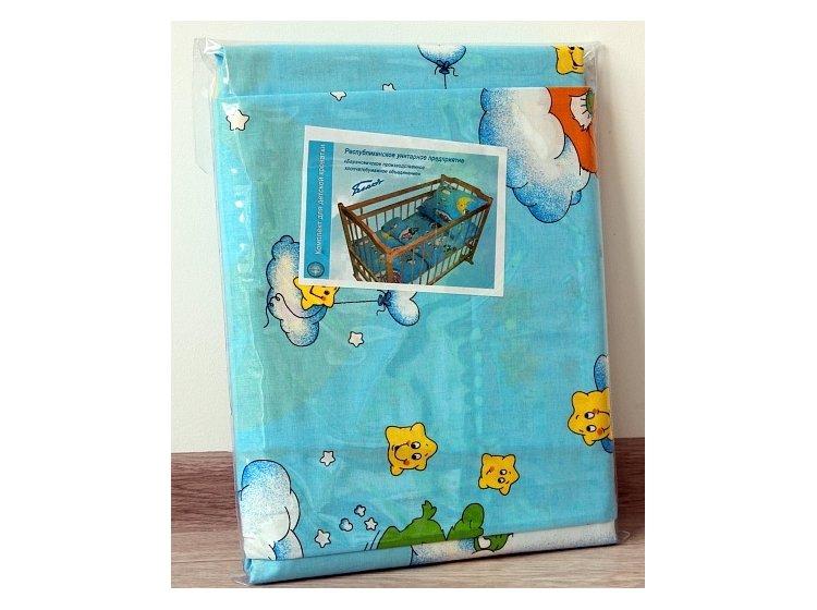 Постельное белье в детскую кроватку Блакит. 3866 Веселые дороги упаковка