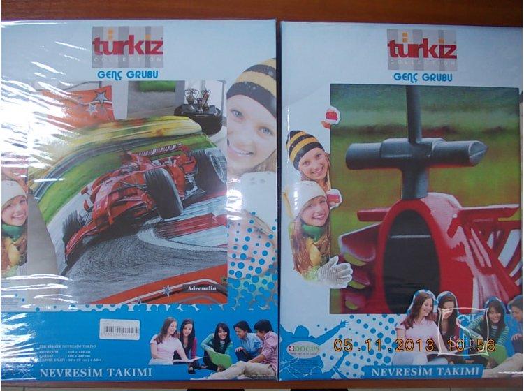 Детское постельное белье Turkiz. Marine Упаковка