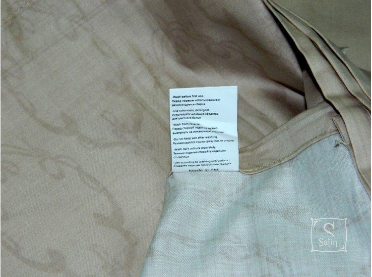Постельное белье TAC. Deluxe Ribbon brown
