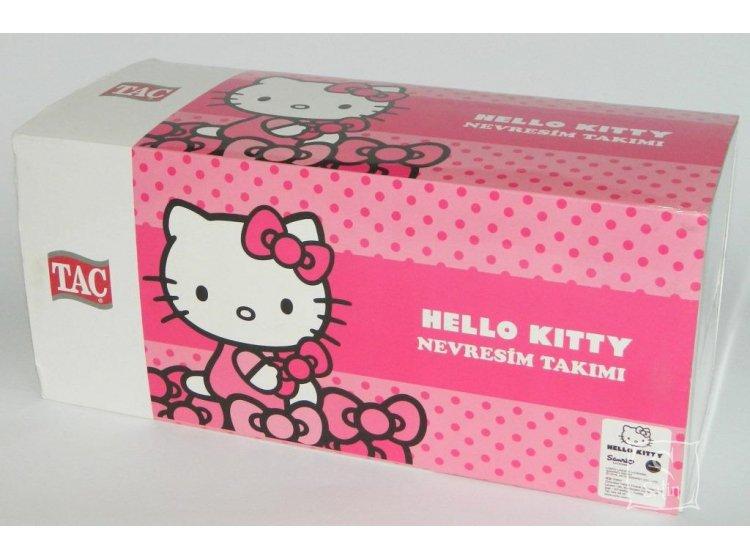 Детское постельное белье TAC. Hello Kitty pink упаковка