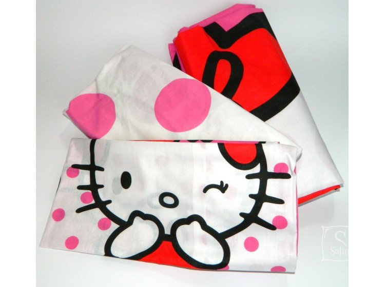 Детское постельное белье TAC. Hello Kitty pink