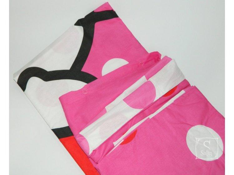 Детское постельное белье TAC. Hello Kitty pink пододеяльник