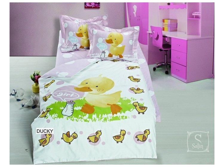 Постельное белье в детскую кроватку Arya. Ducky