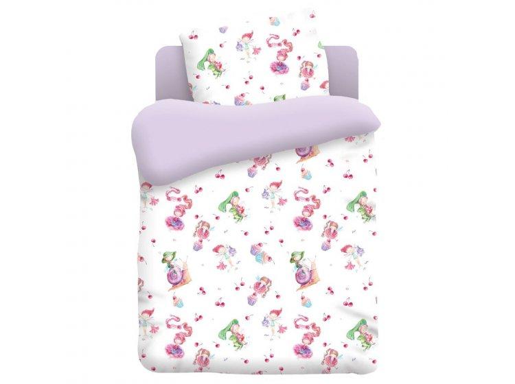 Постельное белье в детскую кроватку Непоседа. Маленькие феечки
