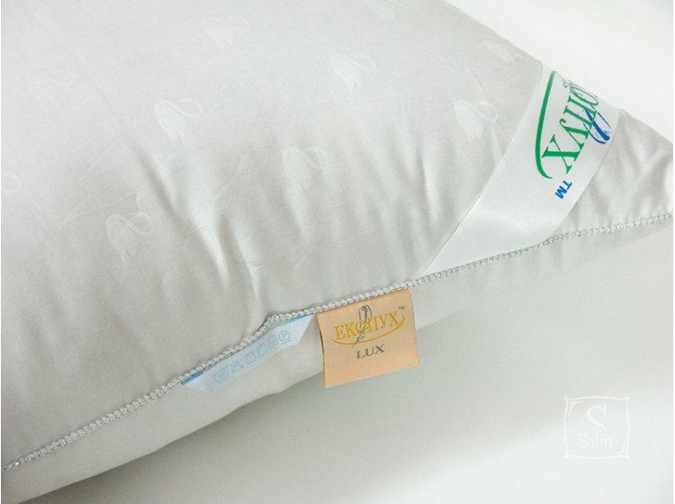 Подушка Экопух LUX. White Swan,100% пух, размер 50х70 см
