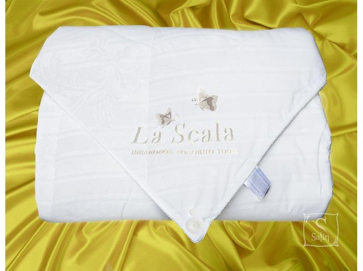 Одеяло La Scala  100% натуральный шелк, размер 200х220