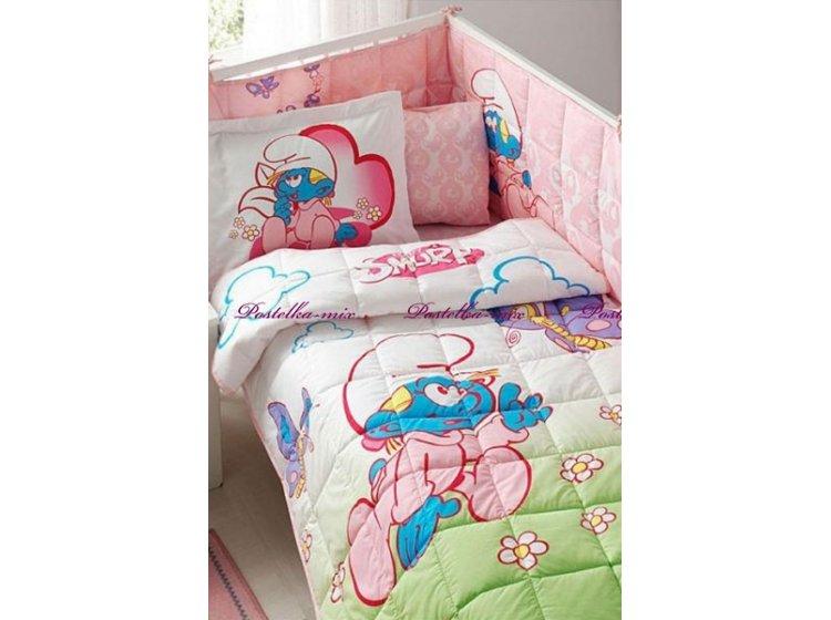 Купить Набор в детскую кроватку TAC. Sirinler girl baby — лучшая ... 0a5b0266bbdd0