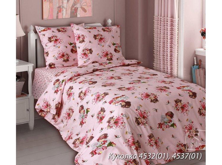 Постельное белье в детскую кроватку Блакит. 4532 Куколка