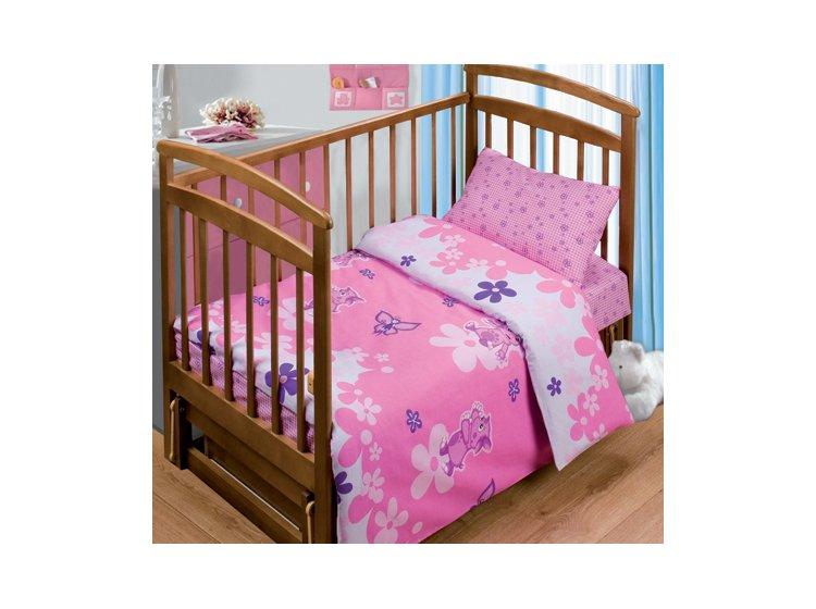 Постельное белье в детскую кроватку Непоседа. Танец с бабочками