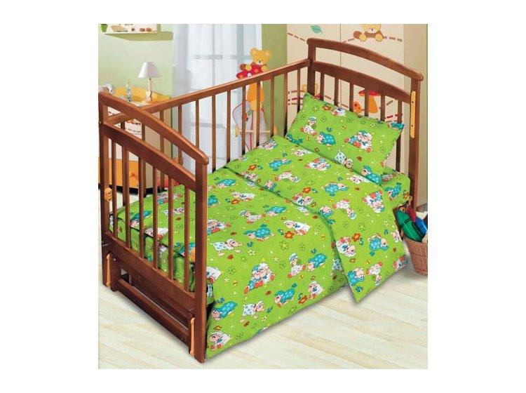 Постельное белье в детскую кроватку Тотошка. Веселые овечки