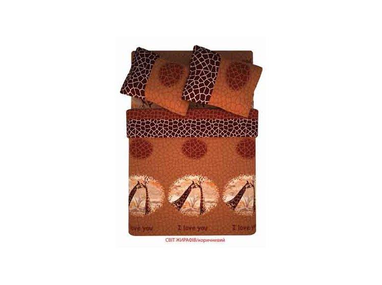 Мир жирафов коричневый