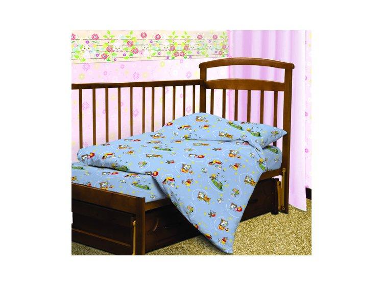 Постельное белье в детскую кроватку Тотошка. Глупый Мышонок